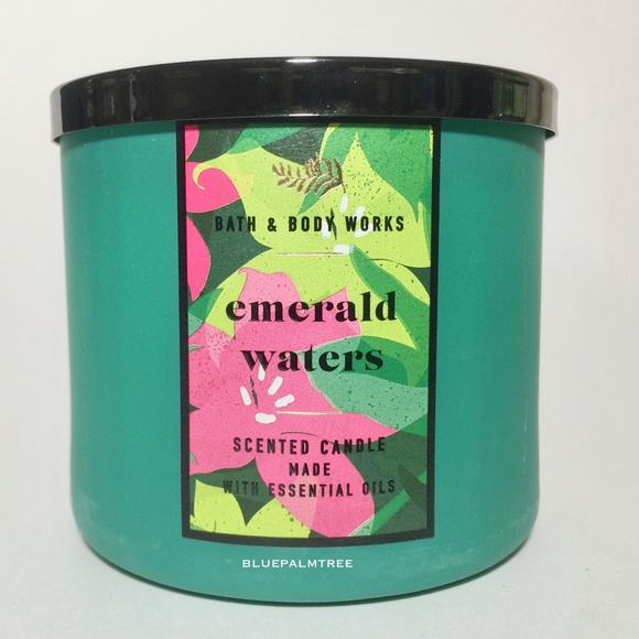 EMERALD WATERS 3 Wick Candle